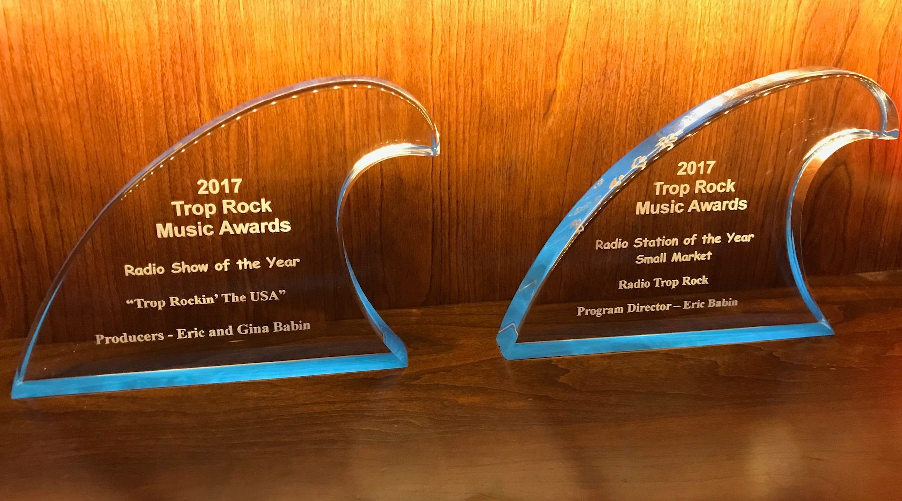 TRMA Award - RadioTropRock
